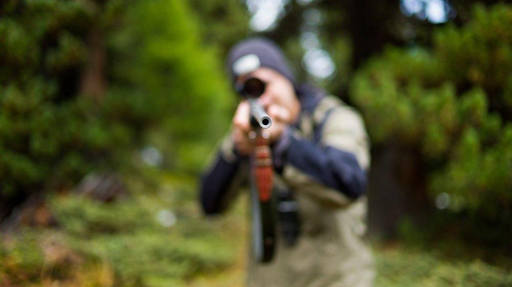 Un jeune chasseur avait braqué, par erreur, le vététiste Roger Poggiali dans la forêt de Chaumont (image d'illustration).