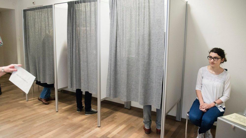 L'électeur peut encore aller porter son bulletin de vote dimanche matin au bureau communal.