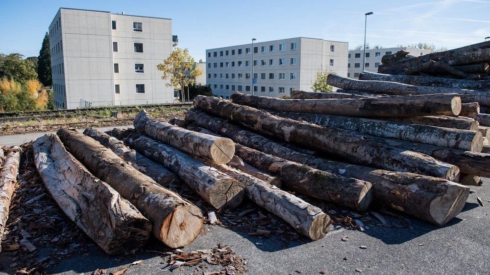 Comme en témoigne cette image, des habitations sont voisines du site concerné.