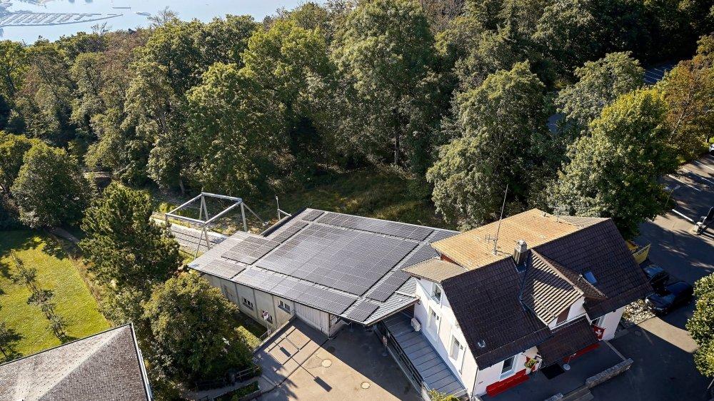 Grâce à ses nouvelles installations, le funiculaire Bienne-Macolin couvre environ un tiers de ses besoins en électricité.