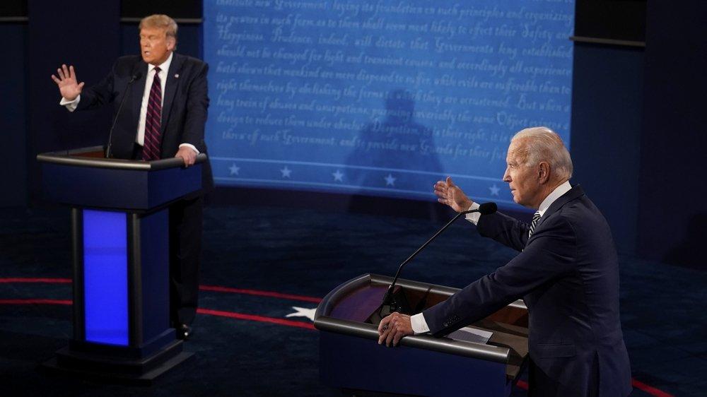 Lors du débat, Joe Biden s'est montré en pleine possession de ses moyens, capable de résister aux attaques de Trump, et même de le placer sur la défensive à plusieurs reprises