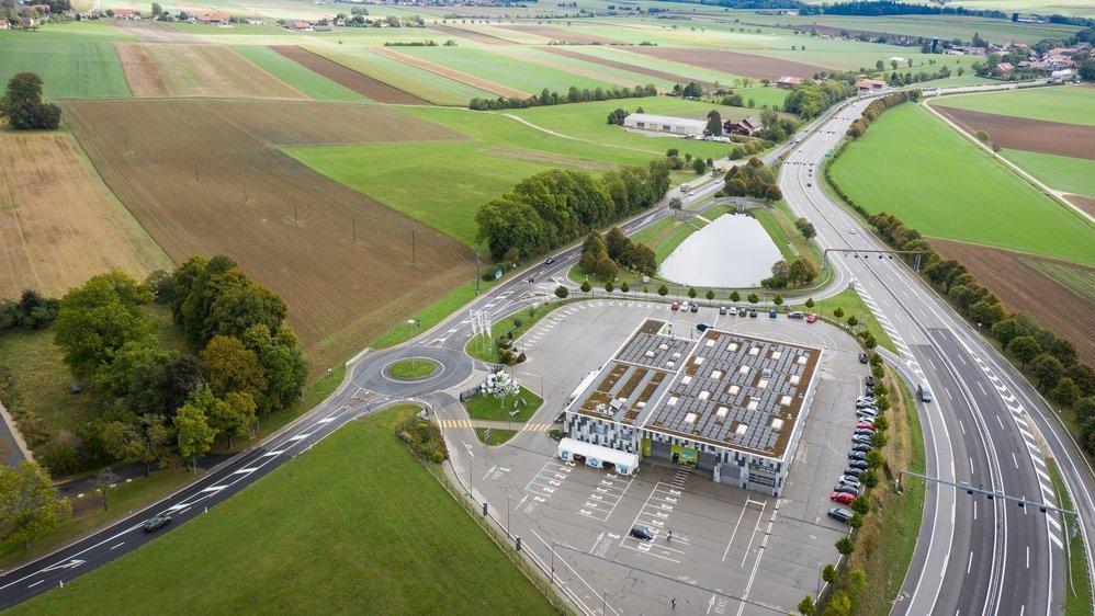 Le centre logistique de Groupe E sera construit sur le secteur Sécheron, en face du Scan, à Malvilliers.