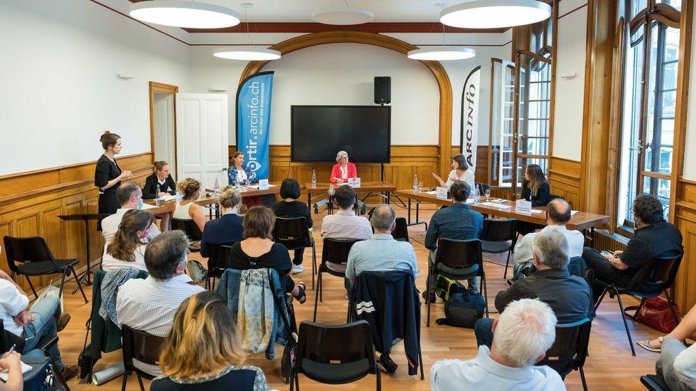 Cinq des huit candidates au Conseil communal de Neuchâtel participaient mardi soir à notre grand débat électoral.