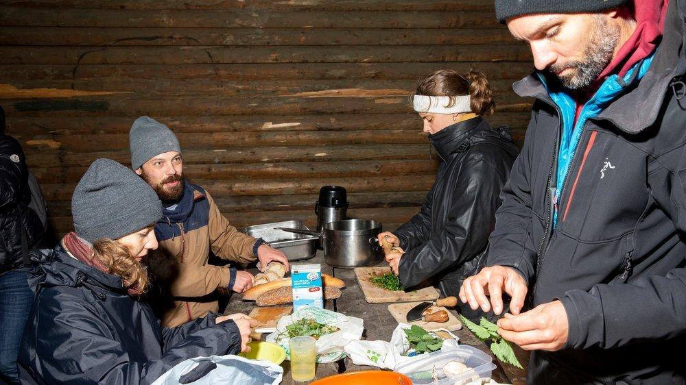Balade découverte des plantes et champignons comestibles à La Chaux-de-Fonds.
