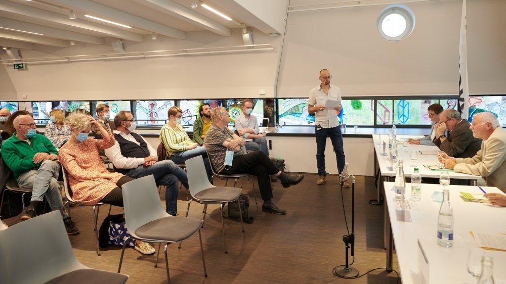 Le débat s'est tenu ce mercredi à l'Espace TSM, à La Chaux-de-Fonds.