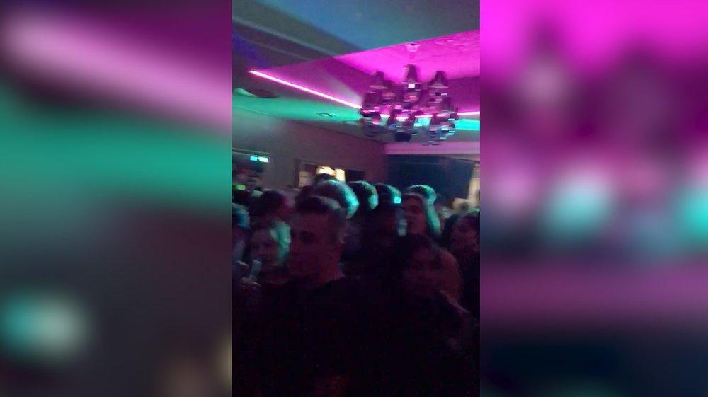 Plus d'une centaine de fêtards étaient au Trois pièces & Demi samedi soir.