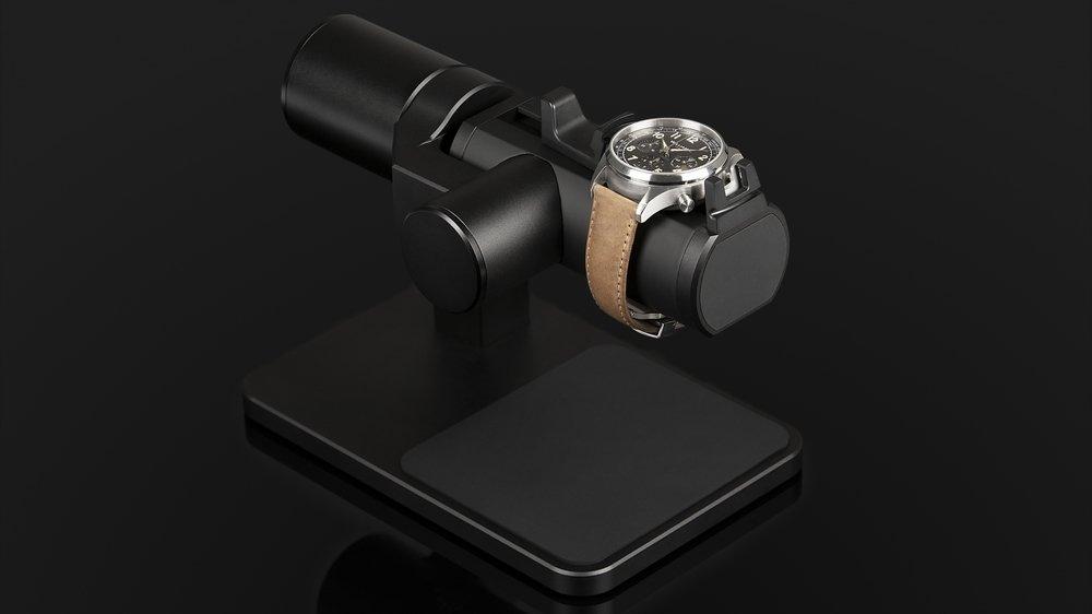L'Accuracy Motion est capable de reproduire un mouvement répétitif transmis par une smartwatch.