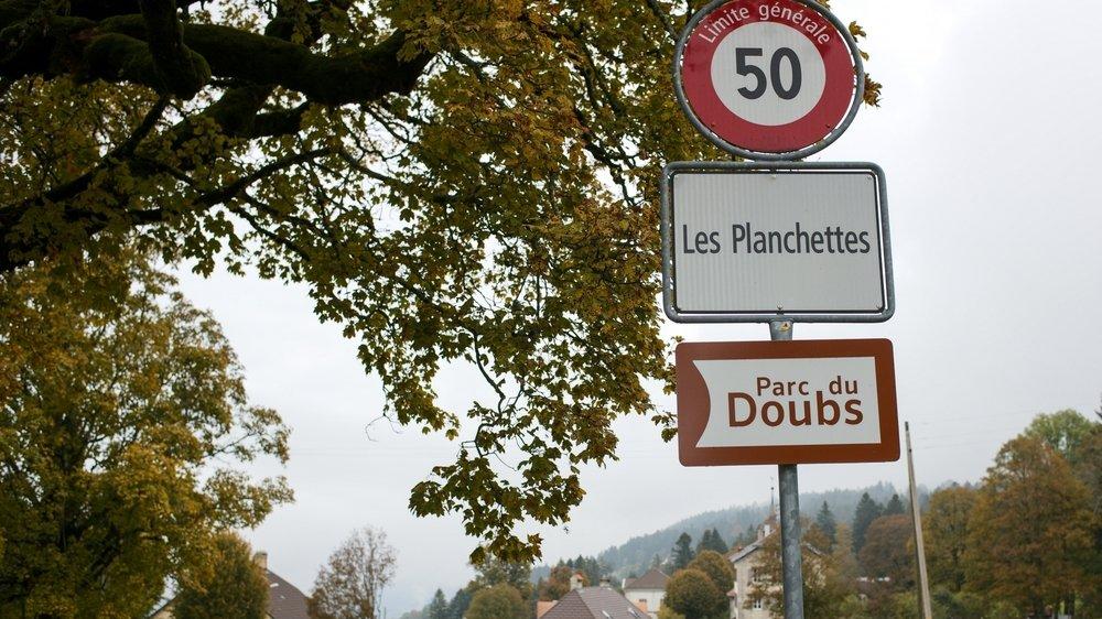 Les Planchettes est la plus petite commune du canton.