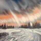 « Frimas ardent » - Pierre Cotting, peintures