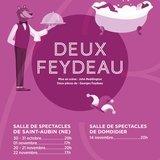 La Mouette joue Feydeau x 2