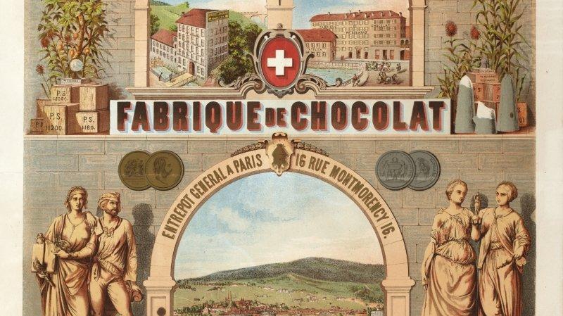 Une pièce montée en chocolat au MahN