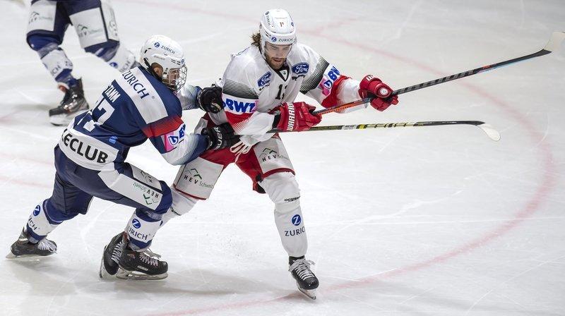 Défaite (0-4) du HC Université Neuchâtel contre Lausanne