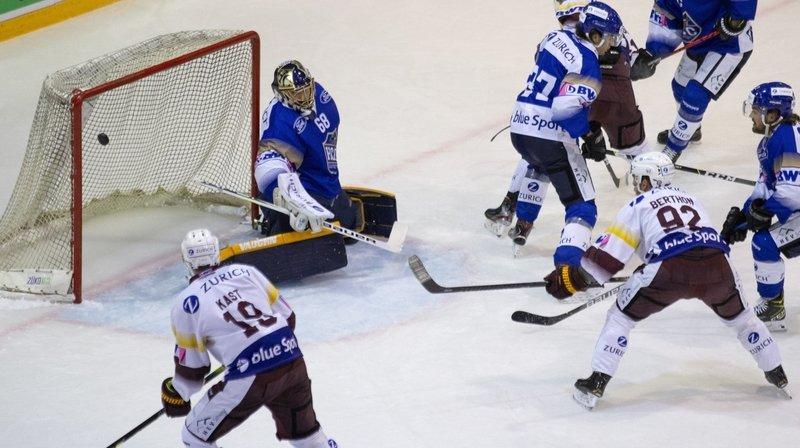Hockey sur glace: sans démériter, le HCC n'a pas créé l'exploit face à Genève-Servette