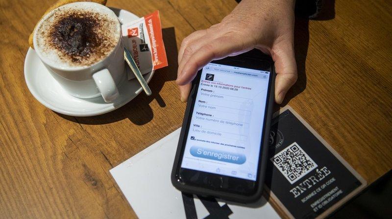 Neuchâtel: pourquoi la collecte numérique des données est imposée dans les bistros dès vendredi