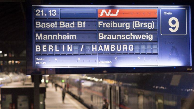 L'offre ferroviaire est renforcée entre la Suisse et l'Allemagne.