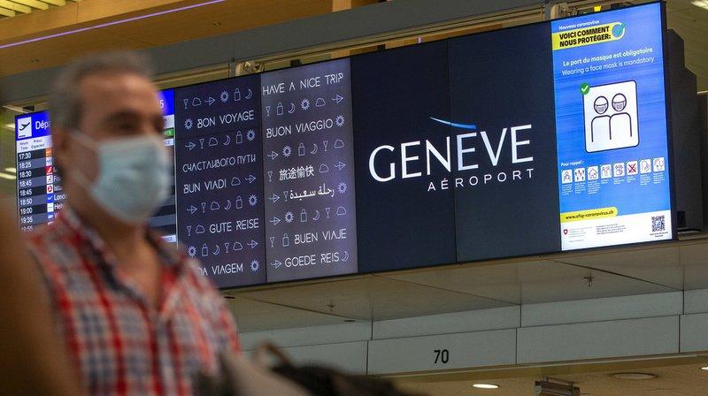 D'après un rapport de Genève Aéroport, il n'y a que 1515 vols pour la période des vacances d'octobre en 2020, contre 5432 l'an dernier. (Archives)