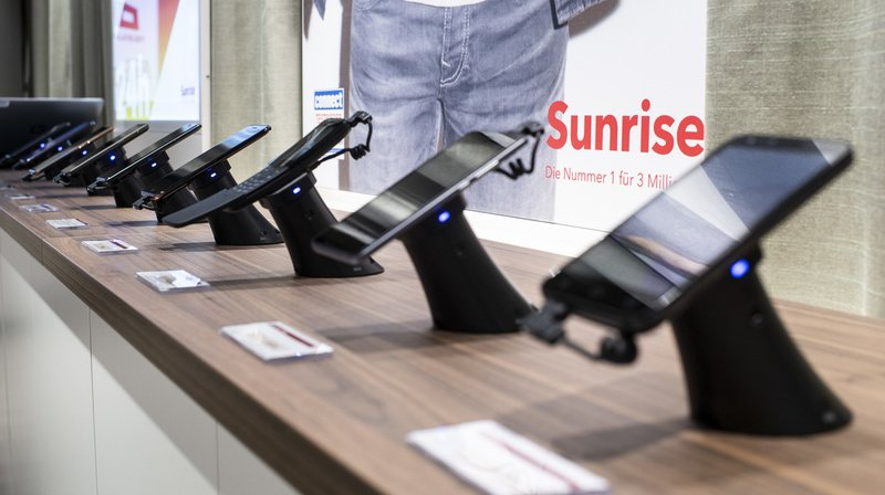 Liberty Global, via sa filiale UPC Suisse, avait annoncé son intention de racheter Sunrise pour 6,8 milliards de francs (archives).