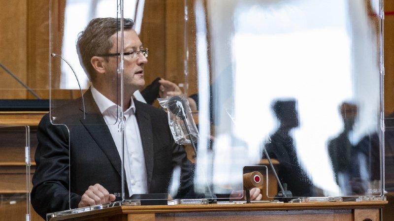 Conseiller national nidwaldien, Peter Keller (ici lors de la session parlementaire de septembre) est le nouveau secrétaire général de l'UDC.