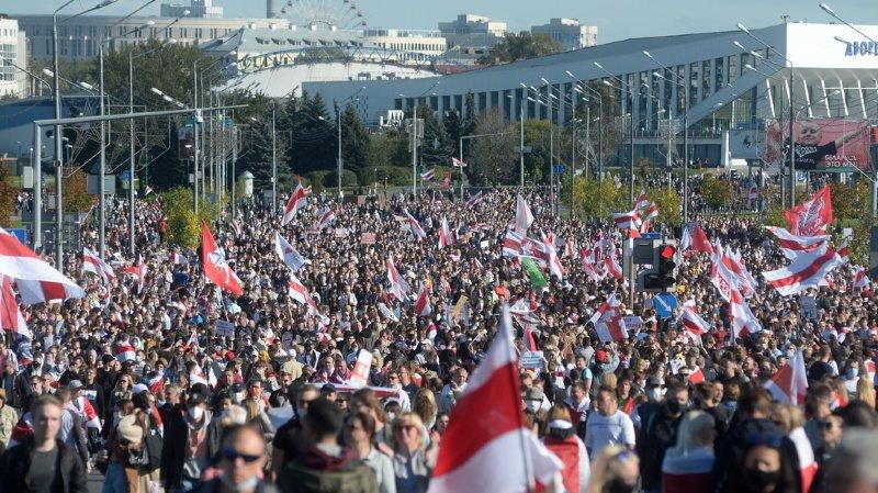 Bélarus: une Saint-Galloise double nationale arrêtée à Minsk