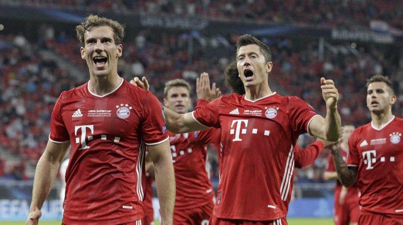 Football: le Bayern bat Séville et remporte la Supercoupe d'Europe