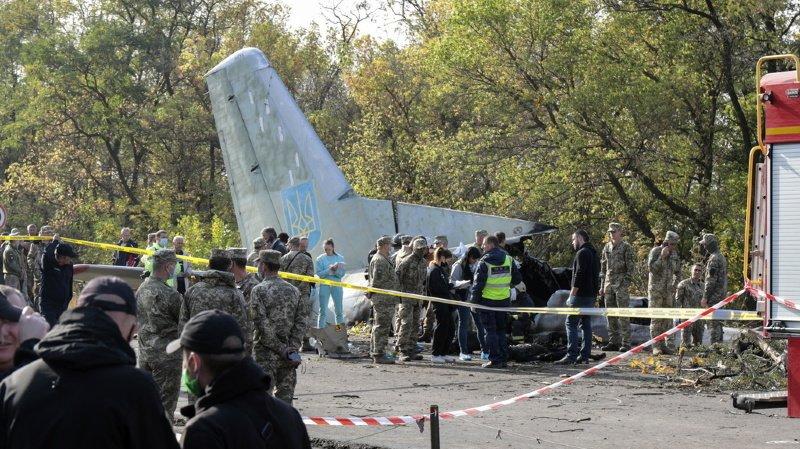 Au total, l'avion transportait 27 personnes, sept membres d'équipage et 20 étudiants de l'université nationale de l'aviation de Kharkiv.