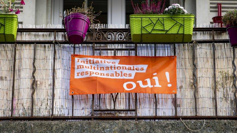 Votations fédérales: les Suisses diraient «oui» aux multinationales responsables