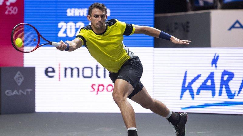 Tennis – tournoi de Cologne: une première pour Henri Laaksonen