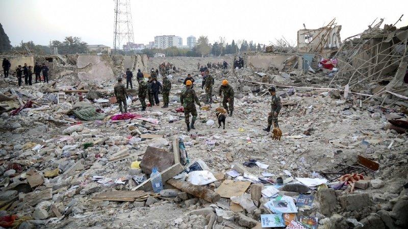 Arménie – Azerbaïdjan: une frappe tue treize civils en Azerbaïdjan