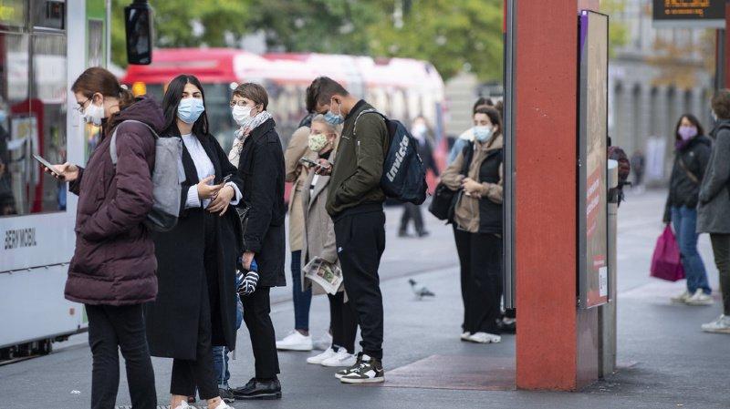 Le canton de Berne a enregistré 205 infections supplémentaires dimanche.