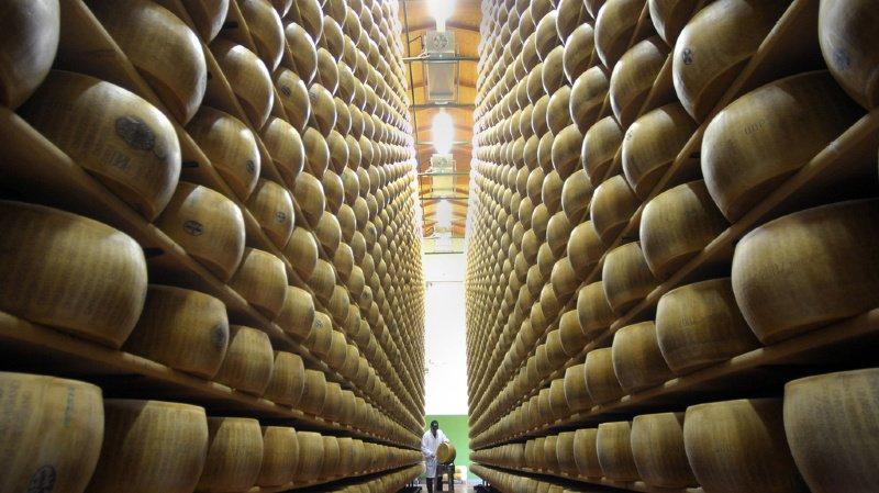 Insolite: la Deutsche Bank garantit un prêt bancaire contre du fromage