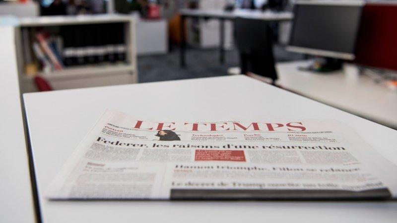 Médias: le quotidien Le Temps est-il sur le point d'être vendu?
