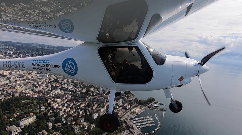 Raid aérien: Raphaël Domjan embarque «ArcInfo» dans un avion électrique
