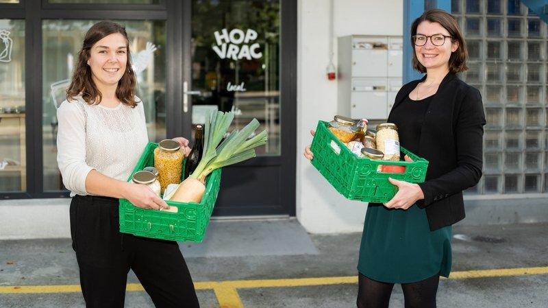 Une épicerie «drive» en vrac a ouvert à Neuchâtel