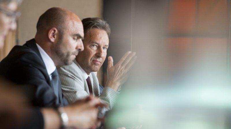Laurent Favre et Alain Ribaux veulent rempiler au Conseil d'Etat