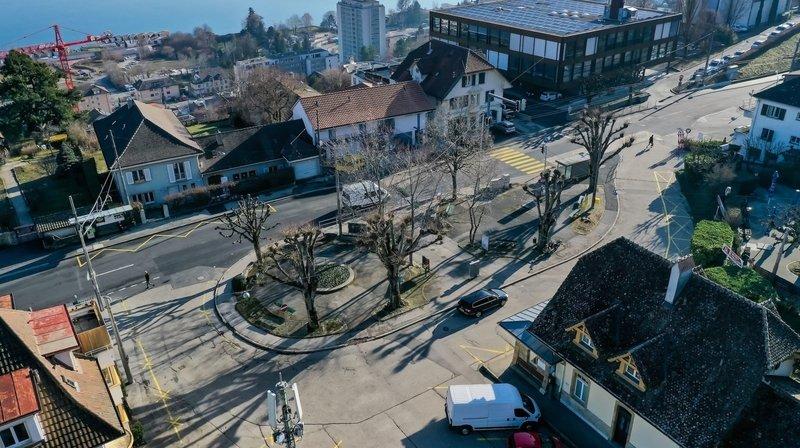 La place de La Coudre, à Neuchâtel, sera réaménagée.