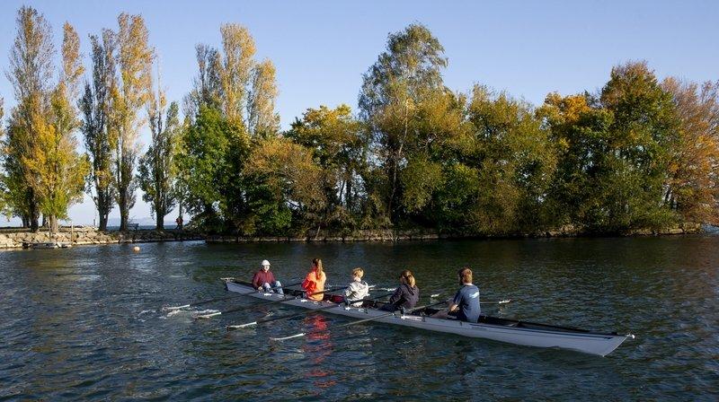 Team Aviron Neuchâtel: un nouveau club sur le lac à Auvernier