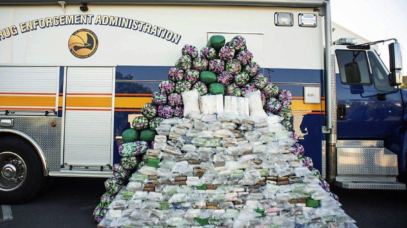 Etats-Unis: une «saisie record» d'une tonne de métamphétamine près de Los Angeles