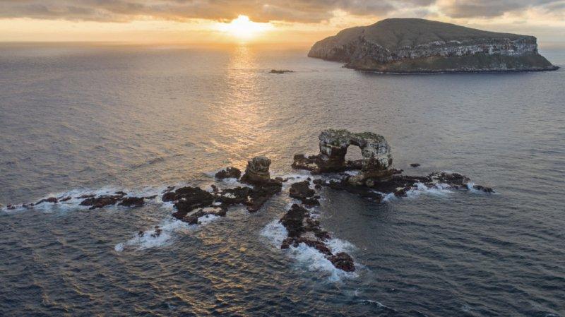L'archipel des Galapagos se situe à 1000 km au large de la côte équatorienne (archives).