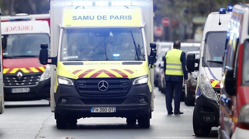 Deux blessés à l'arme blanche à Paris près des anciens locaux de Charlie Hebdo: un suspect arrêté