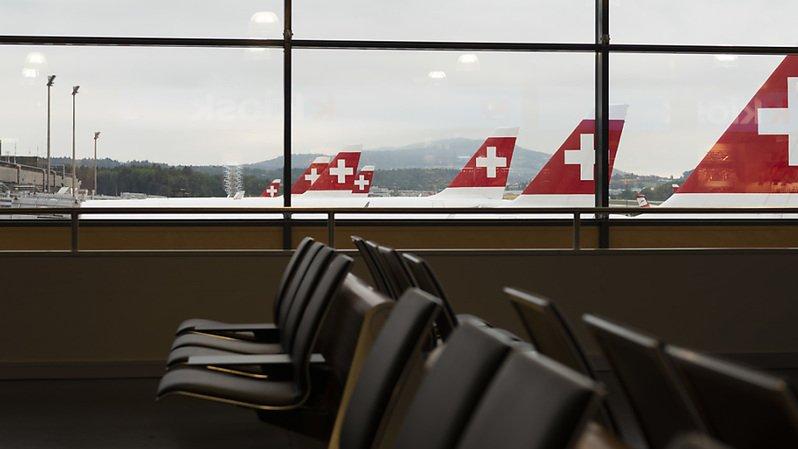 Le transporteur national Swiss a déjà remboursé pour plus de 585 millions de francs de billets d'avion (archives).