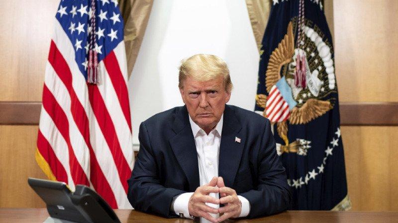 Etats-Unis: Donald Trump annonce qu'il va quitter l'hôpital