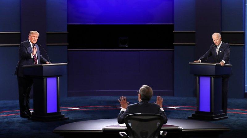 Présidentielle américaine: Trump ne veut pas d'un débat virtuel avec Biden, mais plutôt décaler les dates