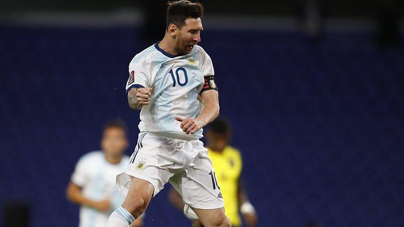 Messi se signale encore avec l'Argentine — FC Barcelone