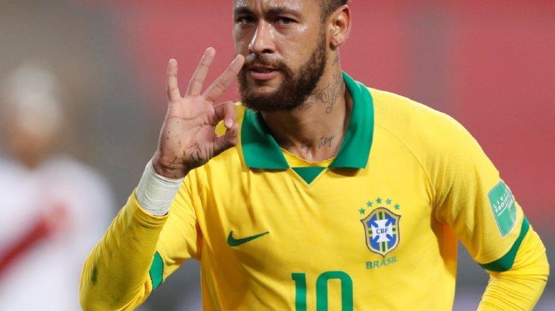 Neymar 2e meilleur buteur du Brésil devant Ronaldo
