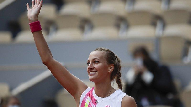 Roland-Garros: Sofia Kenin complète le dernier carré féminin