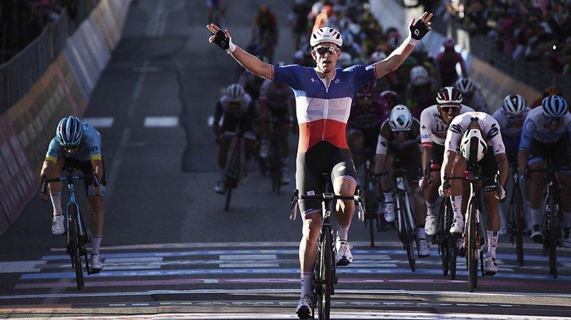 Cyclisme – Tour d'Italie: troisième succès pour Arnaud Démare