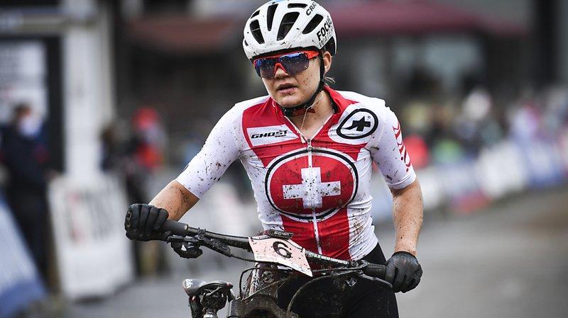 Sina Frei a terminé 4e aux Mondiaux de Leogang.