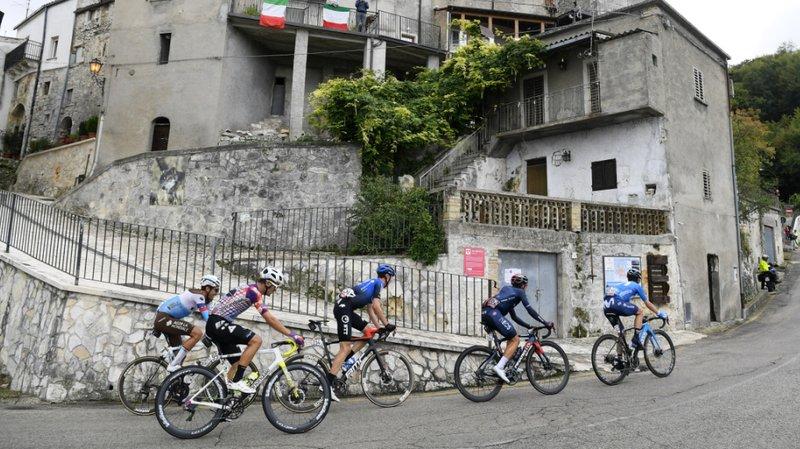 Cyclisme - Tour d'Italie: Guerreiro remporte la 9e étape, le Suisse Frankiny 4e