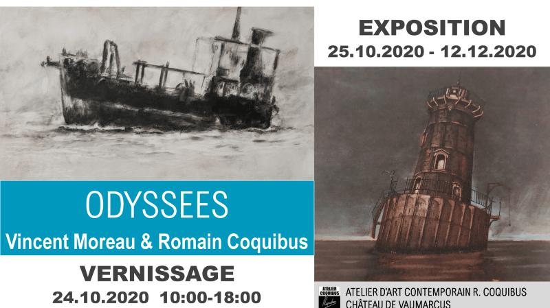 Vernissage de l'Exposition Odyssées