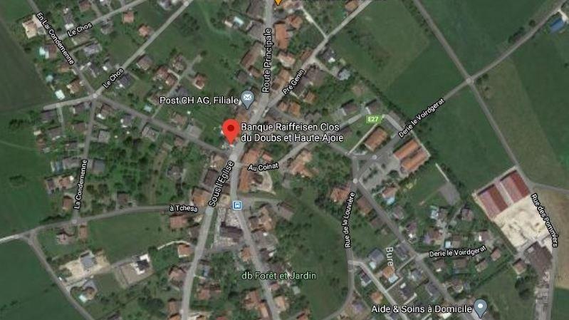 Jura: un bancomat attaqué à l'explosif à Bure
